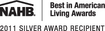 NAHB Best in American Living Awards 2011 Silver Award recipient