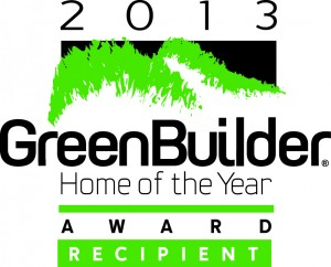 2013 Green Home Builder of the Year award recipient